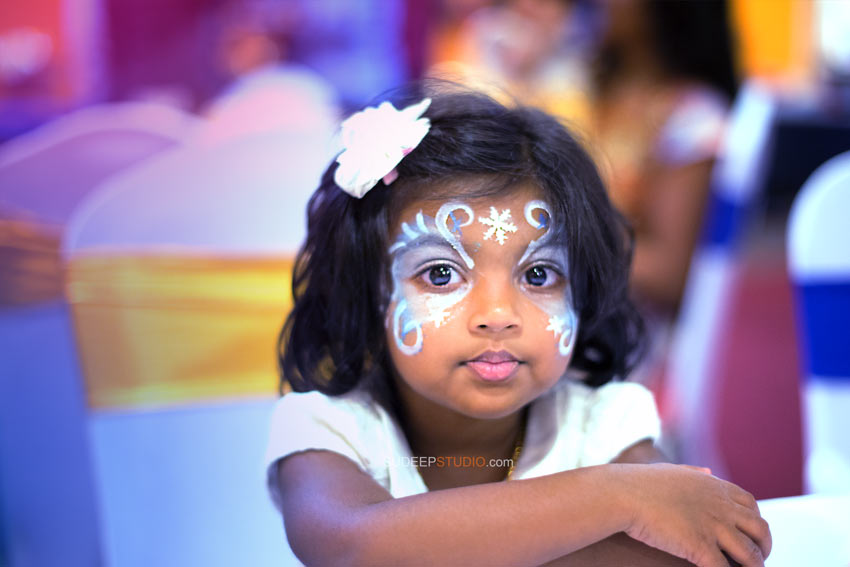 1st (first) Birthday Party Photography Party Ideas Face Painting - Sudeep Studio Ann Arbor Photographer