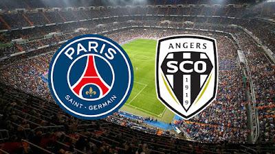 مباراة باريس سان جيرمان وأنجيه بجودة عالية