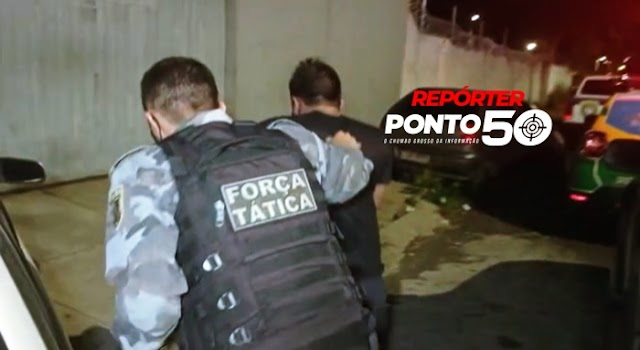 Trio é preso em flagrante roubando TVs de pizzaria no bairro Lourival Parente em Teresina