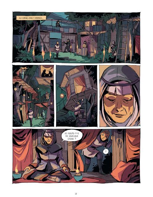 Eden tome 2 -L'âme des inspirés Page 18 aux éditions Rue de Sèvres