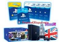 Logo Play Station Academy : vinci gratis Card, PS4, abbonamenti e viaggio a Londra