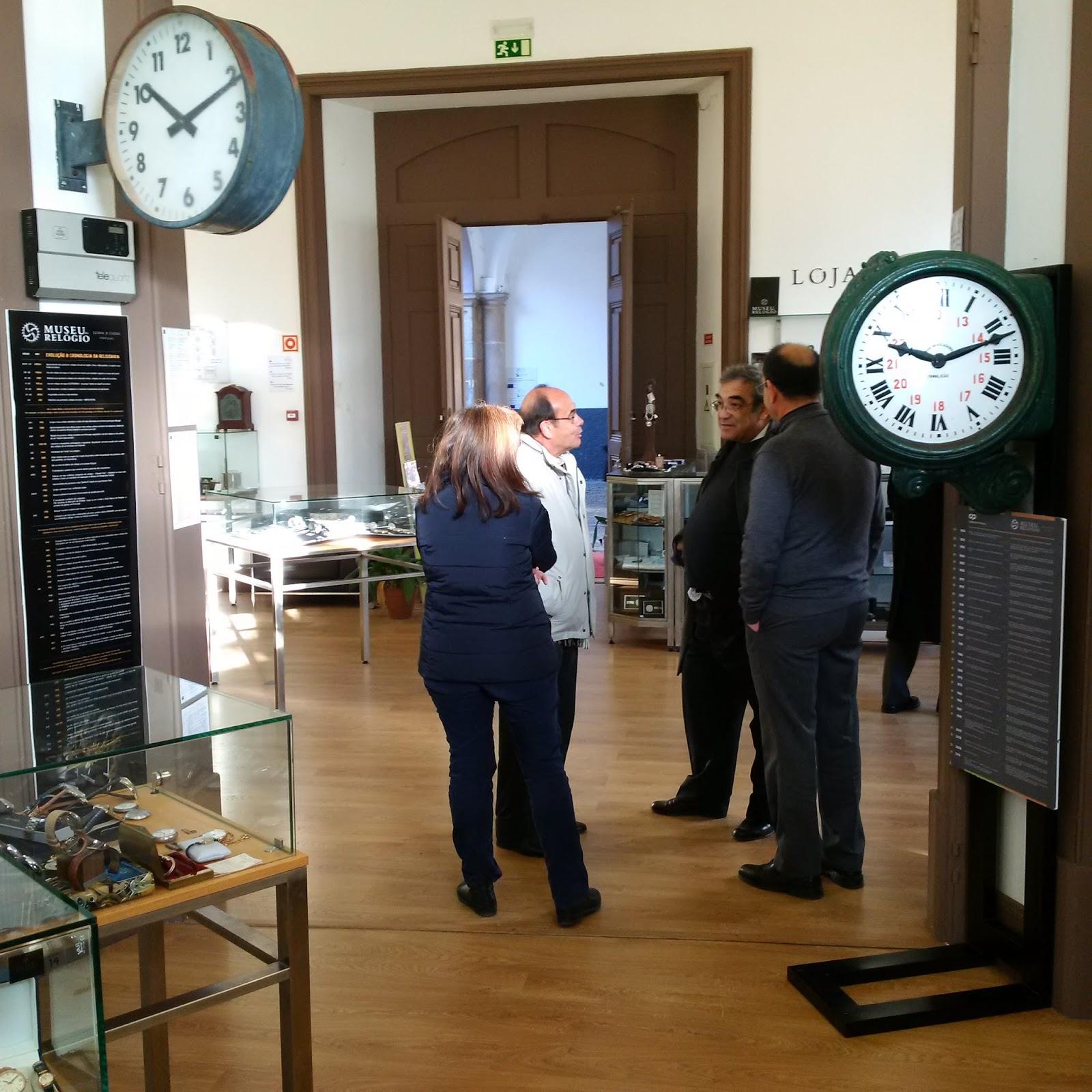 1cb34647577 Estação Cronográfica  Museu do Relógio expõe em Évora relógios da CP