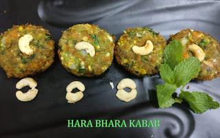 Hara bhara kabab | Veg Hara Bhara Kabab | Vegeterian Kabab | foddiescorner
