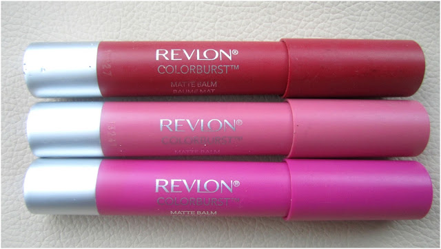Revlon Color Burst Matte Balms Review and Swatches