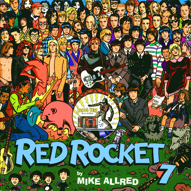 "Música y Cómic: ""Red Rocket 7"" de Mike Allred"