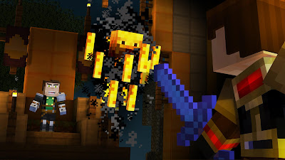 Minecraft: Story Mode screenshot 2