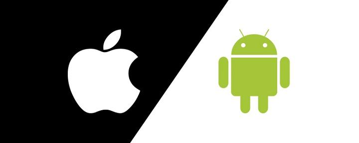 perbandingan ios dan android