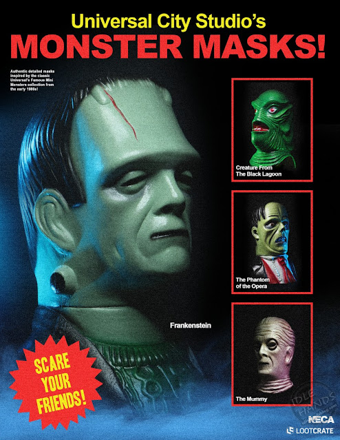 NECA's Limited-Edition Universal Monsters Mask Series Frankenstein