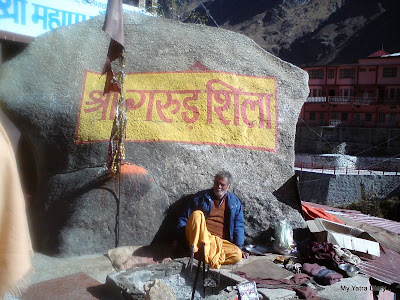 The Garud Shila in Badrinath