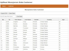 Import Data CSV Ke Database MySQL Menggunakan PHP