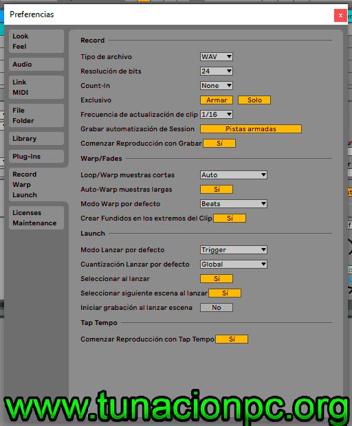 Ableton Live Suite con Licencia