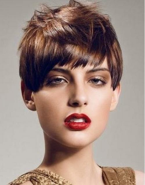 Gambar model rambut pendek terbaru