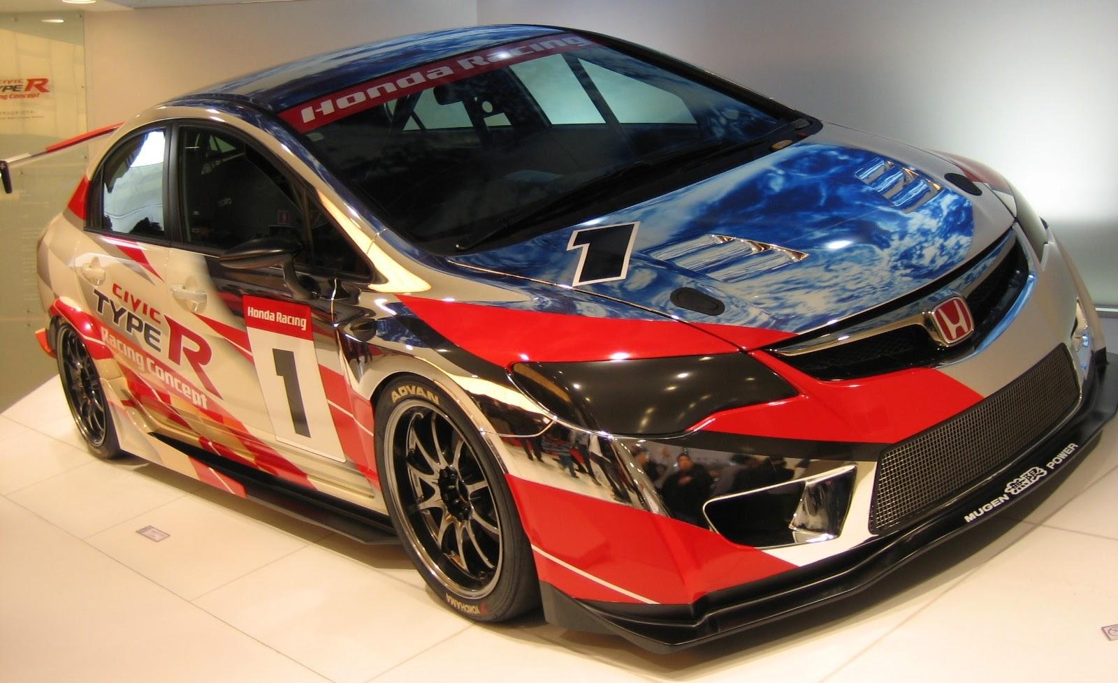57 Gambar Mobil Honda Civic Racing  Ragam Modifikasi