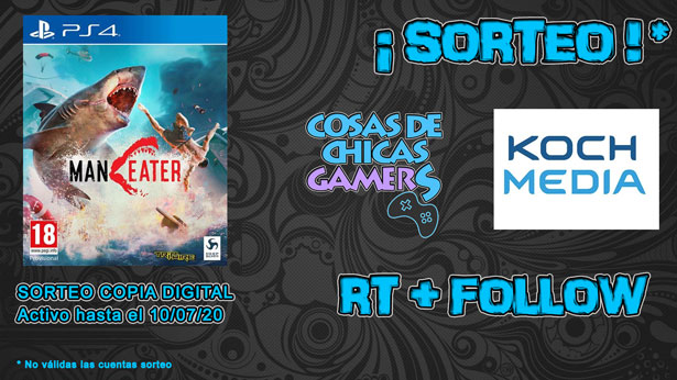 Sorteo Maneater en PS4