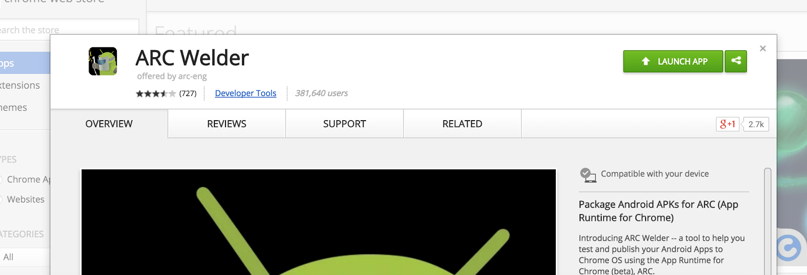 Running Android Apps on Chrome Browser | technoguff