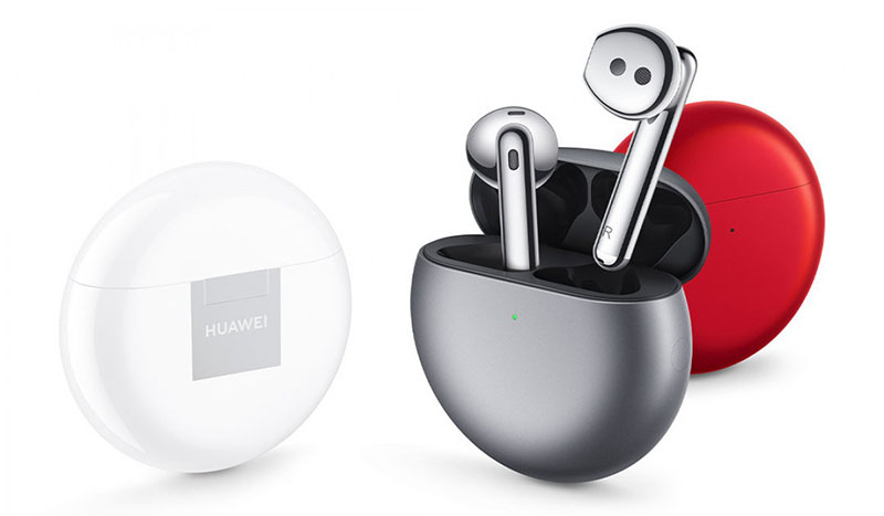 Along with HarmonyOS, Huawei also introduced the FreeBuds 4 globally