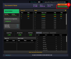 Tournament Poker Online BandarGame.com by IDNPlay