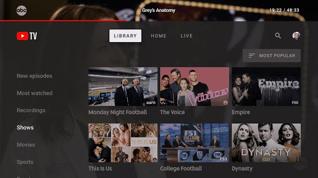 Google's YouTube TV app launches on Android TV, Apple TV, Smart TVs and Xbox One