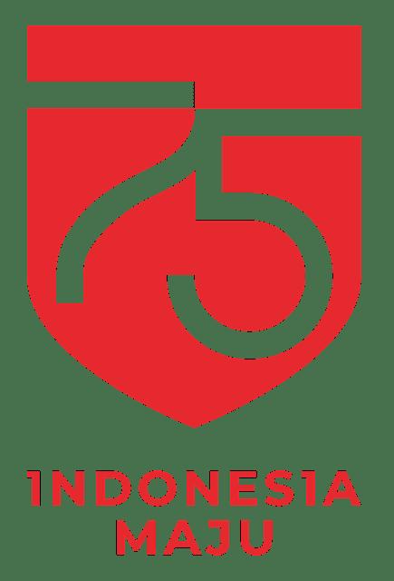 logo 75 tahun indonesia maju