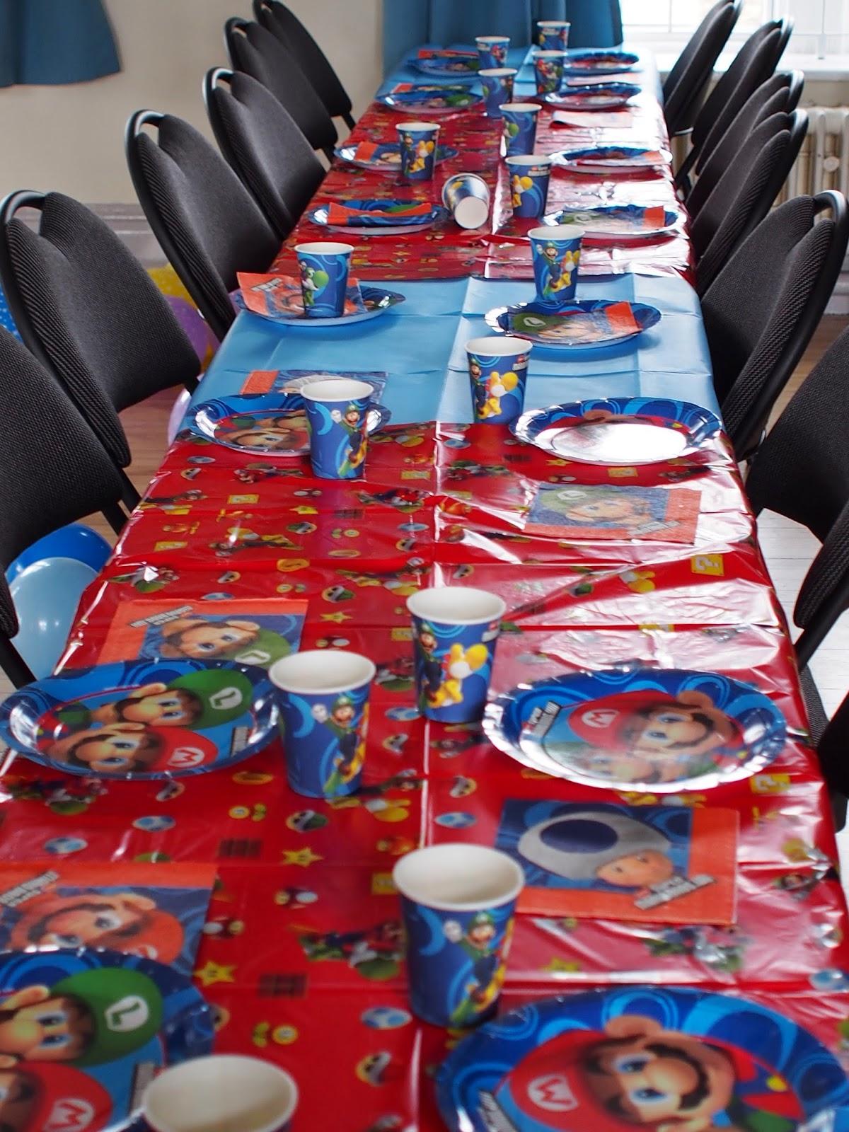 My Super Mario Boy My Super Mario Birthday Party