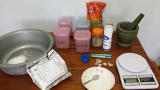 Küchenutensilien zu Räuchern