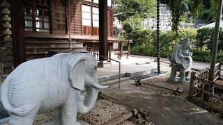 境内には象さん