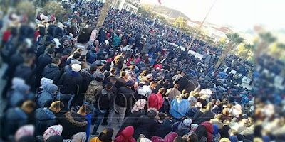 Jerada- Maroc: des blessés dont certains en état grave parmi les forces de l'ordre