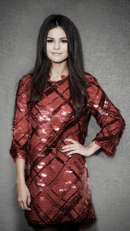 Selena Gomez Kiss FM 2015 Galaxy Note HD Wallpaper