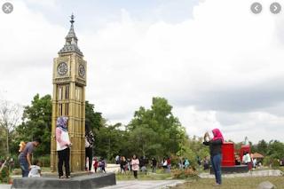 Inilah Tempat Keren Merapi Park The World Landmarks Yang Bakal Menciptakan Sensasi Keliling Dunia