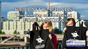 Beasiswa S2 (Master) di University of Helsinki, Finlandia