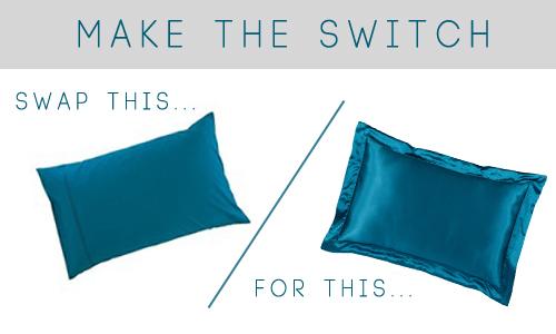 Image result for silk pillowcase vs cotton
