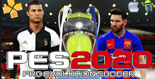 Latest PES 2020 PPSSPP For Android : Product Features.