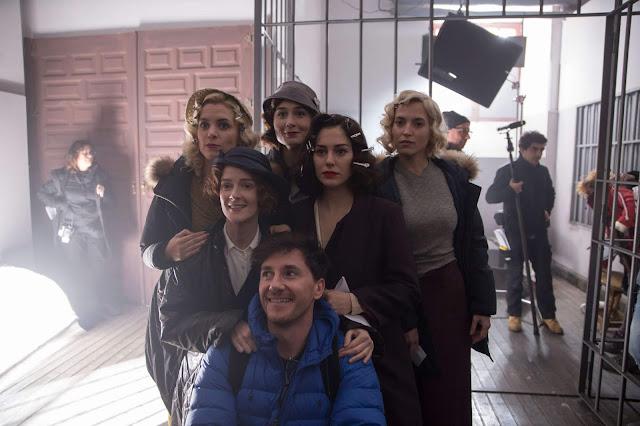 Blanca Suárez, Maggie Civantos, Nadia de Santiago, Ana Polvorosa, Ana Fernández, La Chicas del Cable, cuarta temporada, Netflix