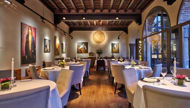 Restaurante i Tigli in Theoria em Como