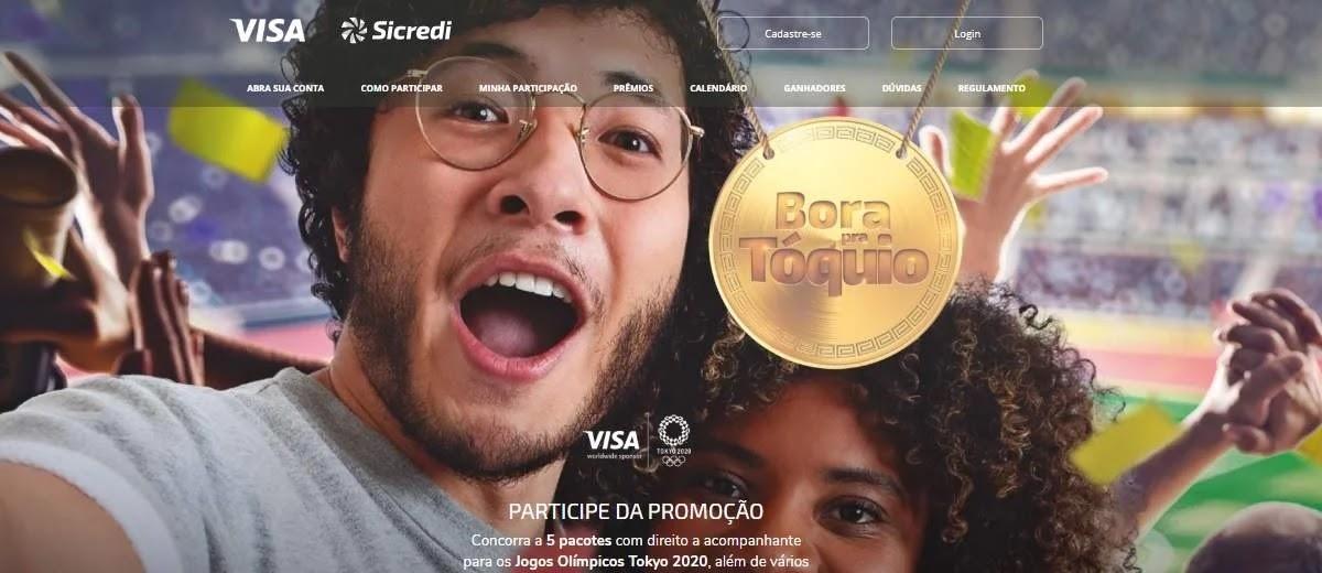 Promoção Cartão Sicredi Visa 2020 Viagem Tóquio Pacotes Acompanhante Bora Pra Tokio