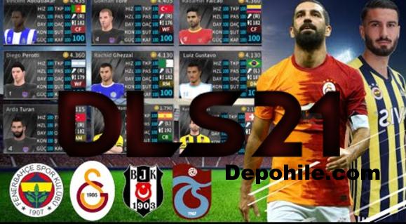 DLS 21 Süper Lig Yaması Tüm Ara Transferler Hileli ve Normal