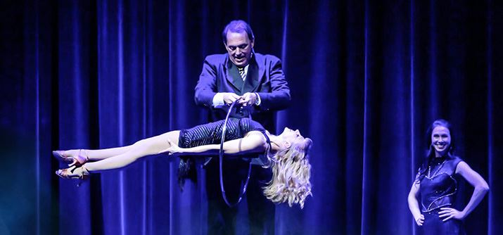 Keith West - Magician & Illusionist in Des Moines, Iowa.
