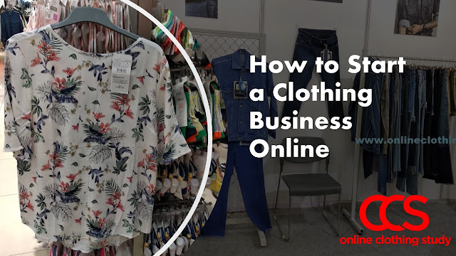 How to start online clothing business in India