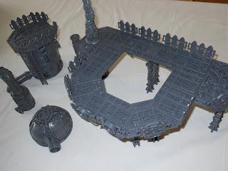 Shadow War: Armageddon scenery assembled