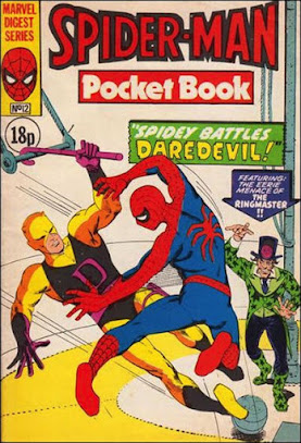 Spider-Man pocket book #12, Daredevil and the Circus of Crime