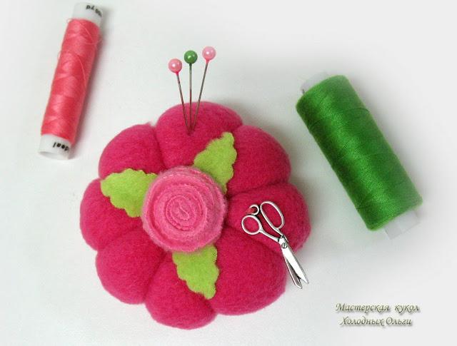 Игольница розовая