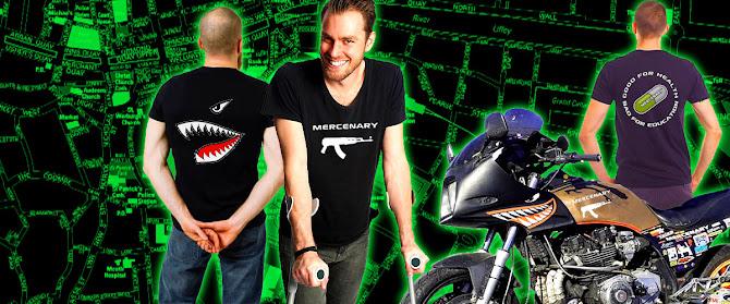 Mercenary Garage Merchandise Store - Men's T-Shirts - https://mercenary-garage.myshopify.com/
