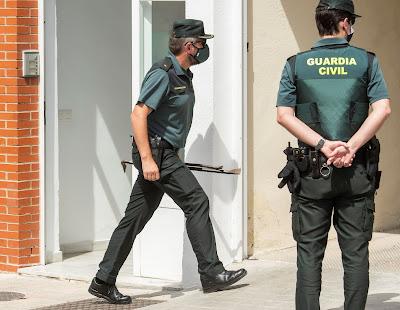 Guardia Civil i aktion