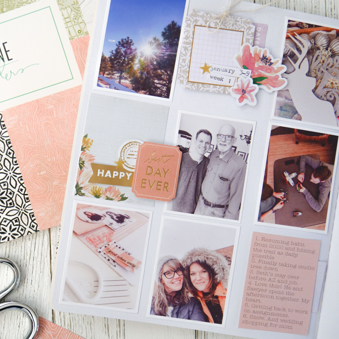 Storyline Chapters | How TO Craft A Simple Journal Spot by Jamie Pate
