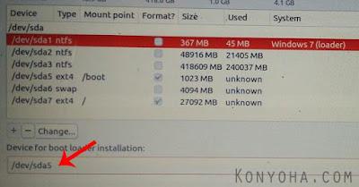 dual boot ubuntu dan windows bagian 12