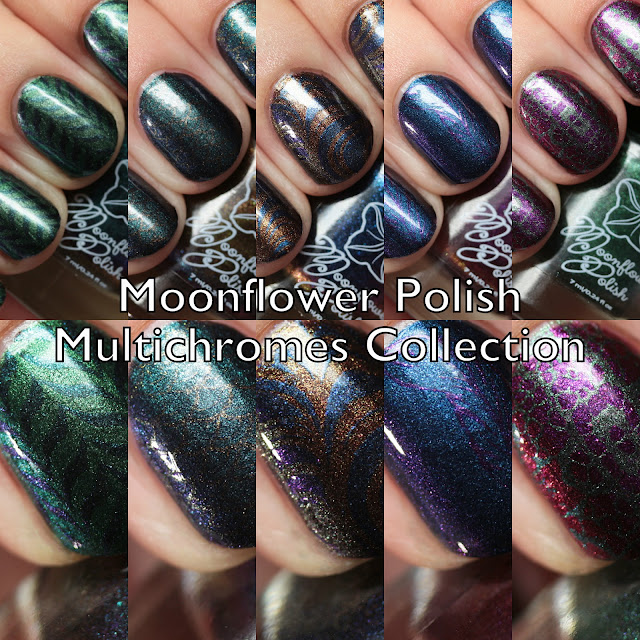 Moonflower Polish Multichromes Collection