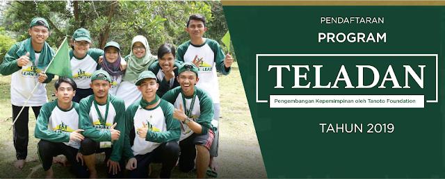Deadline Pendaftaran Beasiswa Teladan Tanoto Foundation 28 September 2019