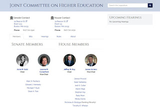 Joint Committee on Higher Education