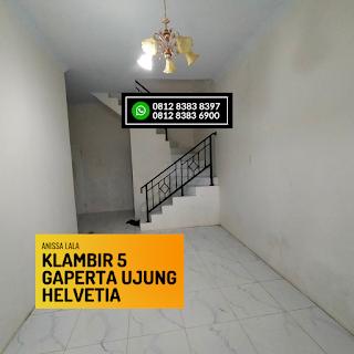 Ruang Tamu Rumah Murah Ready 2,5 Lantai Hanya 400 Jutaan Komplek Anissa Lala Klambir 5 Gaperta Ujung Helvetia Medan