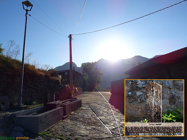 Inicio de la ruta en Arintero